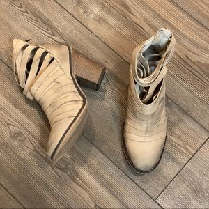 Free People Hybrid Strappy Bootie 8 38